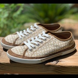 Coach Leatherware Canvas Sneakers 7